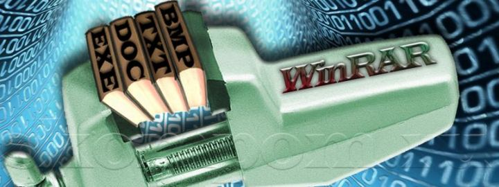 Установка архиватора WinRAR и распаковка файла в Windows 7